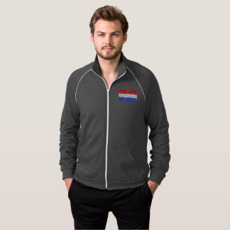 The 4th of july Men's American Track Jacket