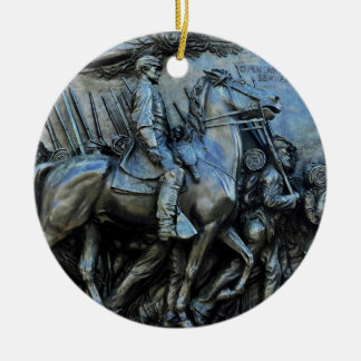 The 54th Massachusetts Volunteer Infantry Regiment Christmas Ornament
