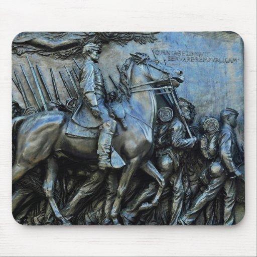 The 54th Massachusetts Volunteer Infantry Regiment Mouse Pad