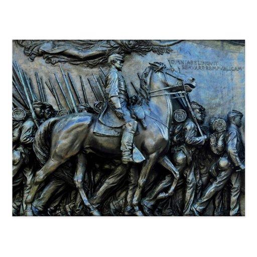 The 54th Massachusetts Volunteer Infantry Regiment Post Cards