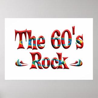 The 60 s Rock Print