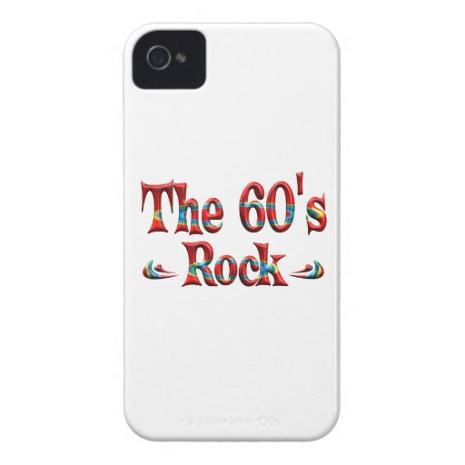 The 60's Rock iPhone 4 Case-Mate Cases