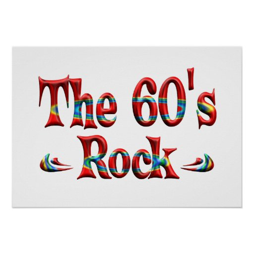 The 60's Rock Print