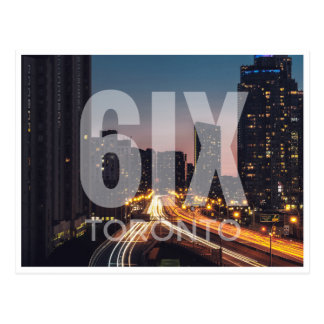 The 6ix postcard