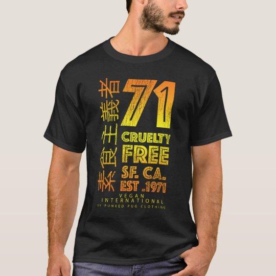 The 71 Cruelty Free Design T-Shirt