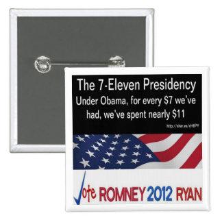 The 7-Eleven President  Button