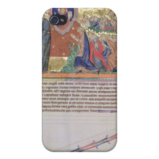 The 7th angel blowing his trumpet iPhone 4 case
