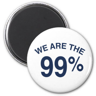 The 99% Are We Refrigerator Magnets