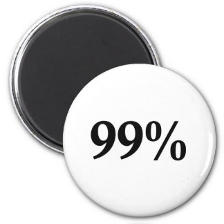 The 99% refrigerator magnet