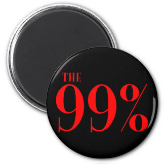The 99% refrigerator magnets
