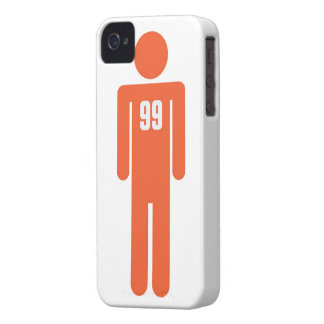 The 99 percent Man iPhone 4 Cover