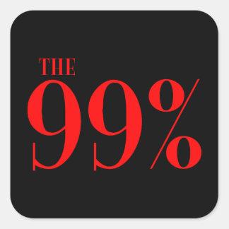 The 99% square sticker