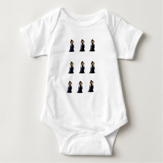 The 9 Witches of Halloween Baby Bodysuit
