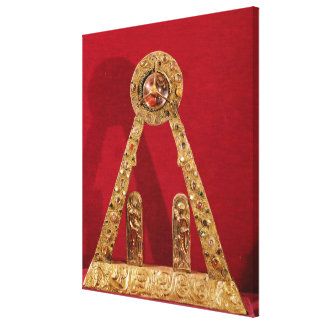 The 'A' of Charlemagne Canvas Print