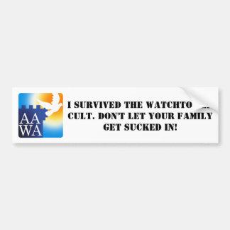 The AAWA Bumper Sticker