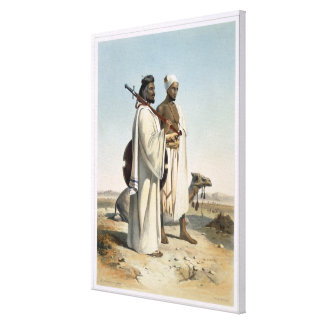 The Ababda, Nomads of the Eastern Thebaid Desert, Canvas Print