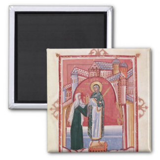 The Abbess Hilda offering Magnet