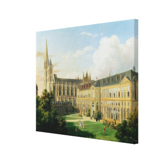 The Abbey Church of Saint-Denis Canvas Print