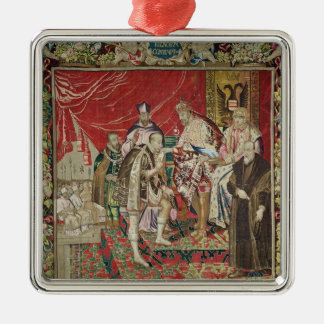 The Abdication of Charles V Christmas Ornament