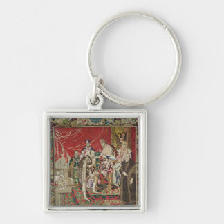The Abdication of Charles V Key Ring