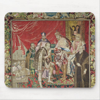 The Abdication of Charles V Mouse Mat