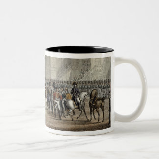 The Abdication of Napoleon and his Departure from Two-Tone Mug
