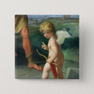 The Abduction of Helen, 1631 15 Cm Square Badge