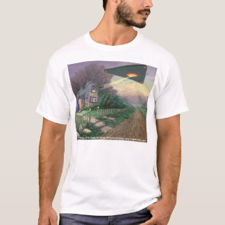 The Abduction of Kinkade, by Steven Vincent Johnso T-Shirt