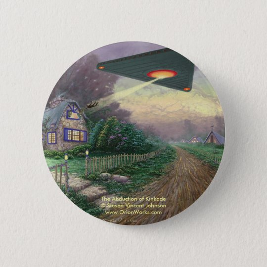 The Abduction of Kinkade, The Abduction of Kink... 6 Cm Round Badge