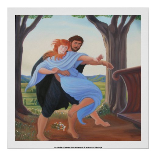 The Abduction of Persephone Poster