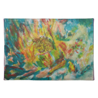 The Abstract Fower-The Memory collection-placemats Place Mats