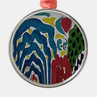 The Abstract garden Christmas Ornament