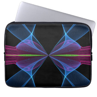 The abstract print laptop sleeve