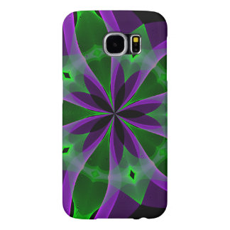 The abstract purple garden Samsung Galaxy S6 Case