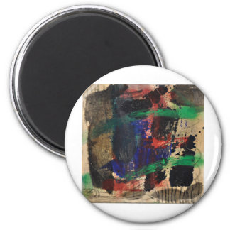 The Abstract World 6 Cm Round Magnet