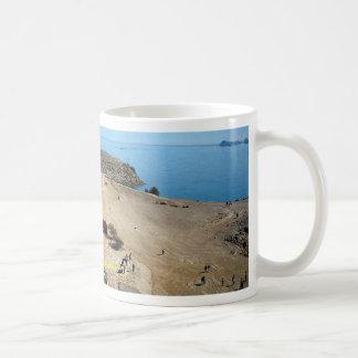 The Abu Simbel Temples Egypt Desert Coffee Mugs