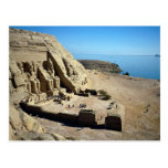 The Abu Simbel Temples, Egypt Desert Postcard