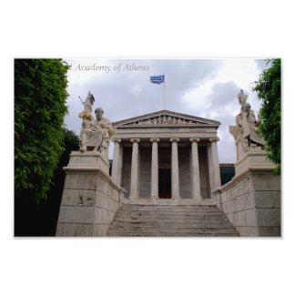 The Academy of Athens Photo Print