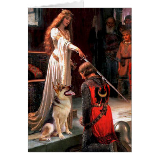 The Accolade - German Shepherd 1 Card