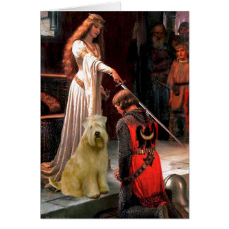 The Accolade - Wheaten Terrier Card