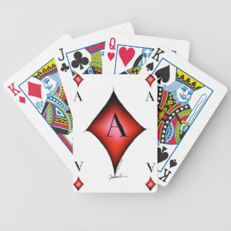 The Ace of Diamonds by Tony Fernandes Bicycle Playing Cards