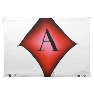 The Ace of Diamonds by Tony Fernandes Placemat