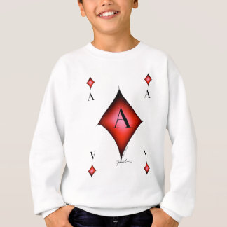 The Ace of Diamonds by Tony Fernandes Sweatshirt