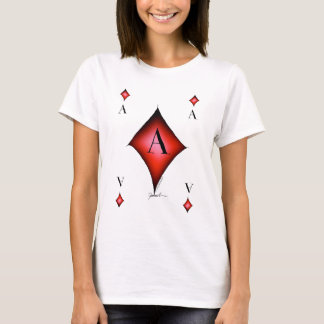 The Ace of Diamonds by Tony Fernandes T-Shirt