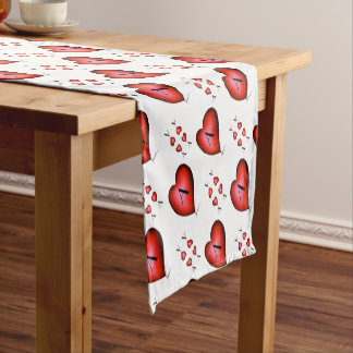 The Ace of Hearts by Tony Fernandes Short Table Runner