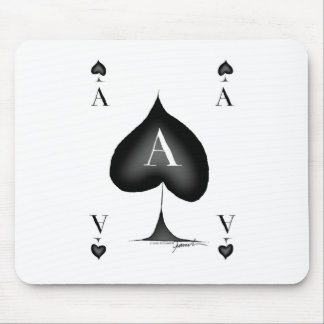 The Ace of Spades by Tony Fernandes Mouse Pad