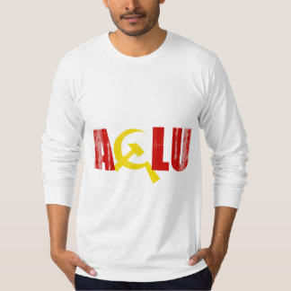 The ACLU is communist Faded.png T-Shirt