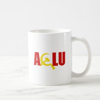 The ACLU is communist Basic White Mug