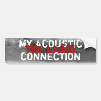 The Acoustic Bumper Sticker