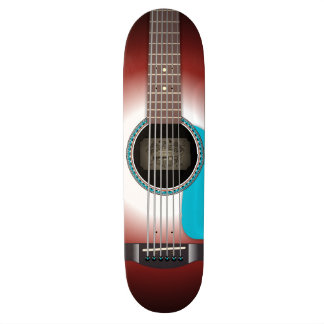 The Acoustic Skateboard